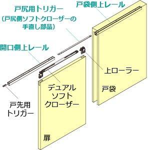 FD戸袋対応の部品構成
