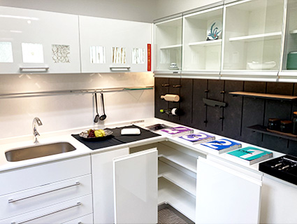 4階 住空間モデル キッチン コーナー