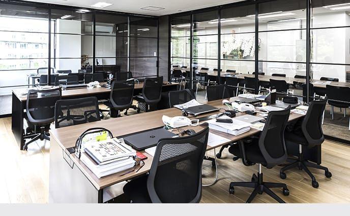 オフィスの施工例・採用事例