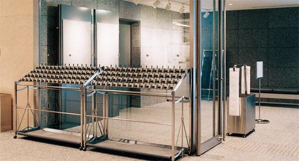 アンブレラスタンド AU-SO型、AU-OO型の施工例・採用事例