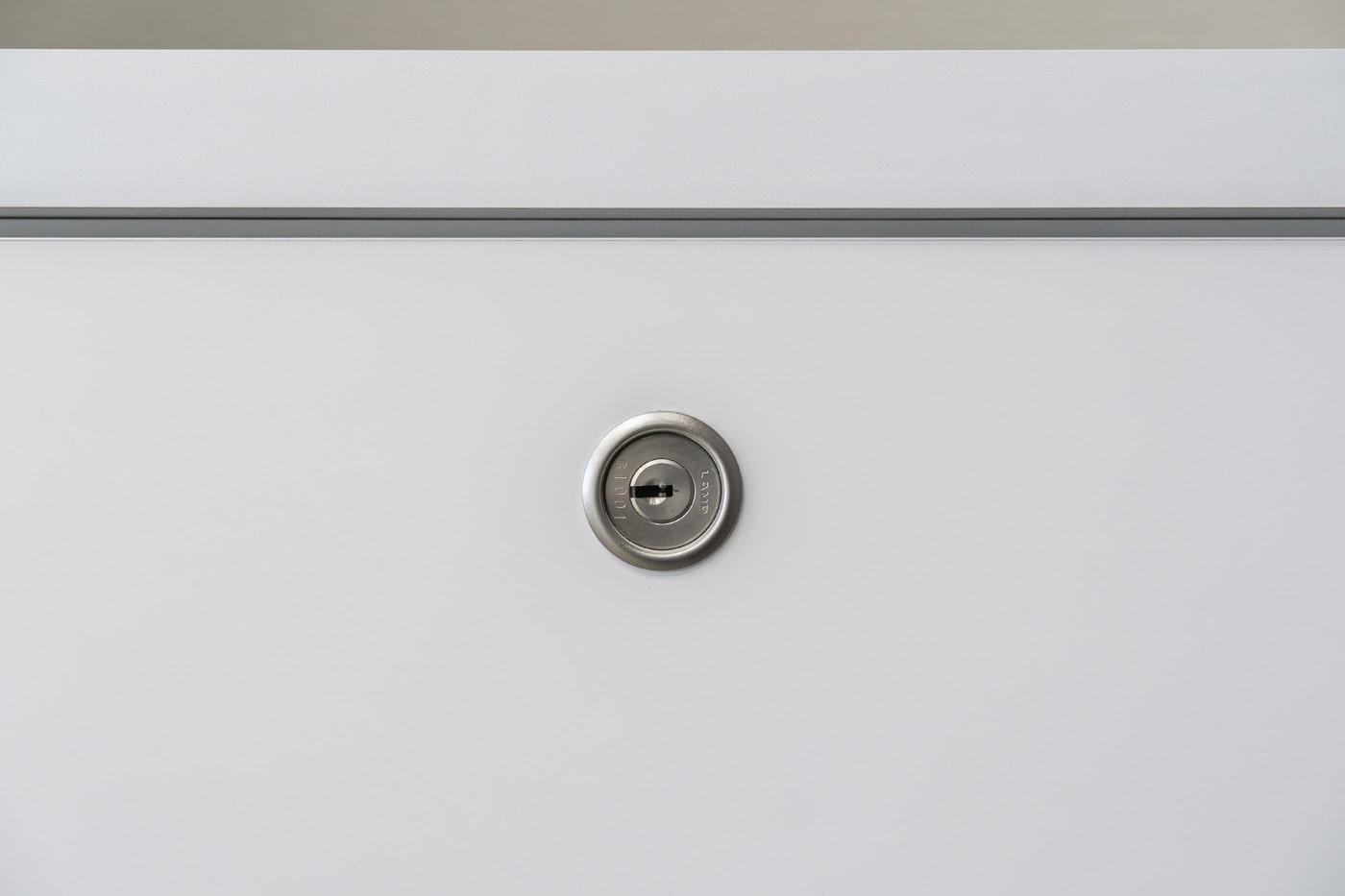 ミリオンロック面付シリンダー錠 7810型の施工例・採用事例