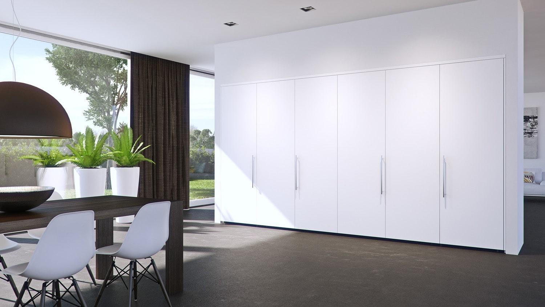 垂直収納折戸金物フォールディングコンセプタ 25の施工例・採用事例