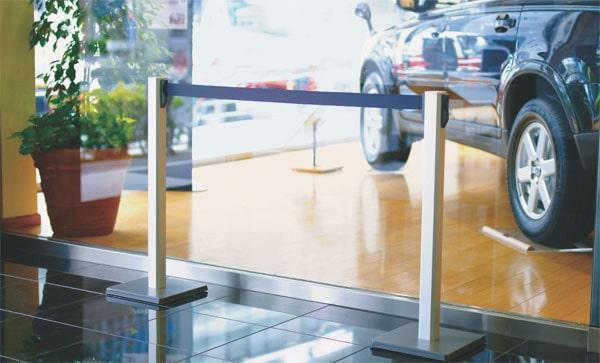 ベルトリールパーティション XLA-BR001M型の施工例・採用事例