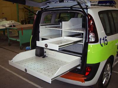 CHAMBRELAN 超重量用スライドレールの施工例・採用事例