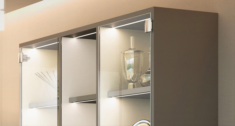 ガラス扉用フェイスプレート GH-360FP型の施工例・採用事例