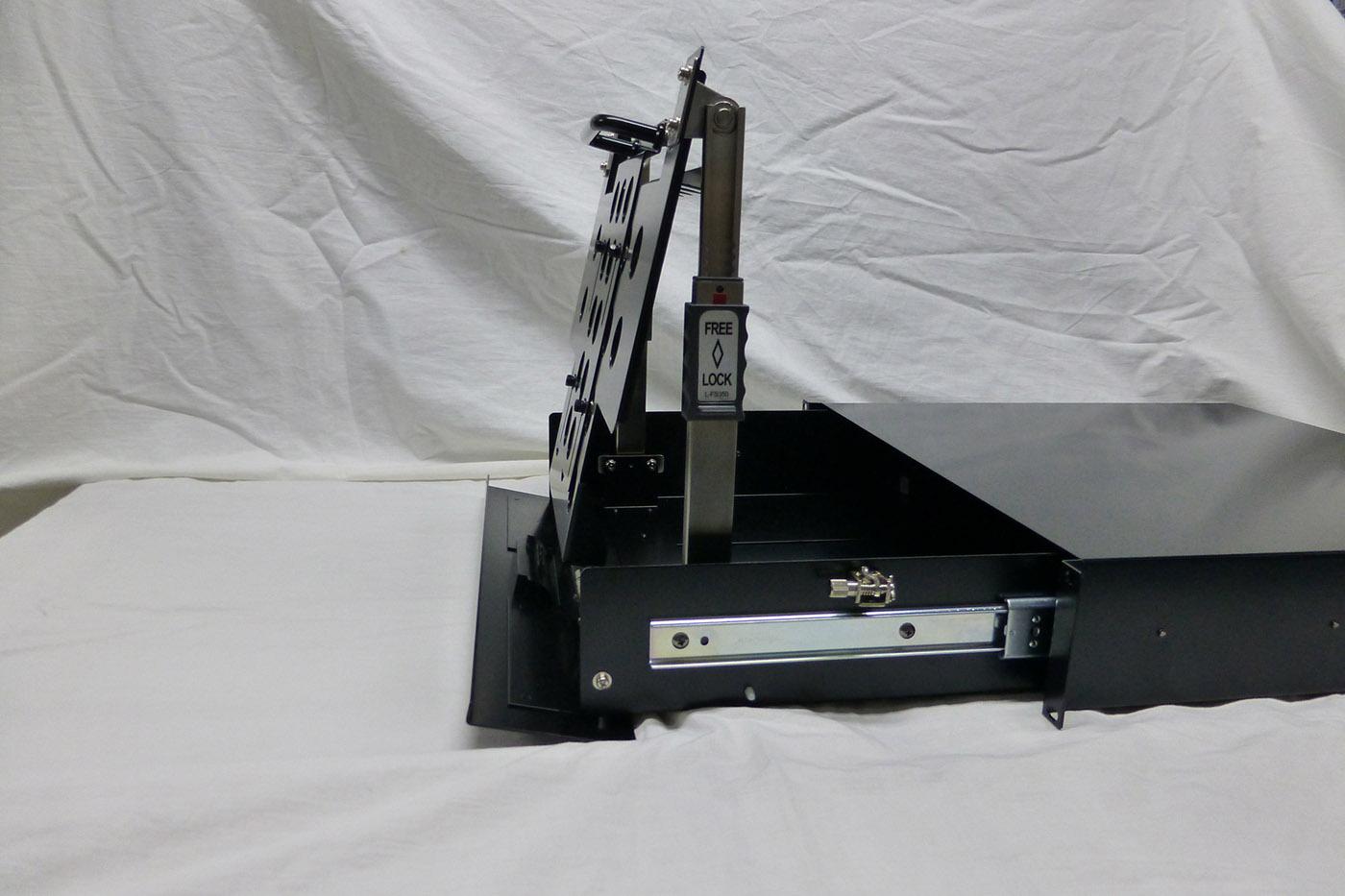 ステンレス鋼製多段階ステー L-FS350Aの施工例・採用事例